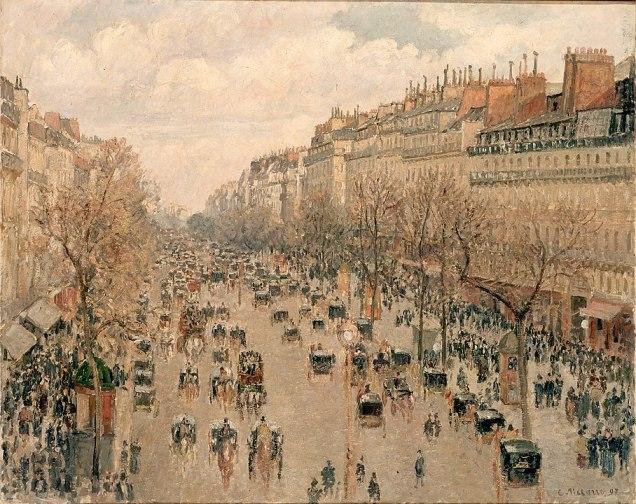 Pissarro_Boulevard_Montmartre_à_Paris