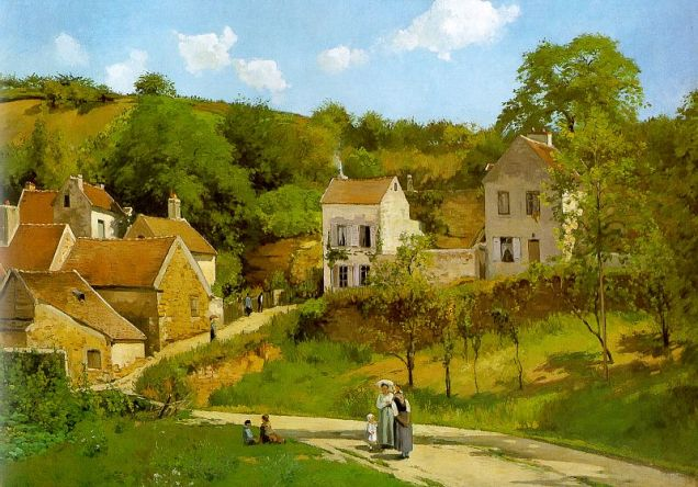 Pissarro_The_Hermitage_at_Pontoise
