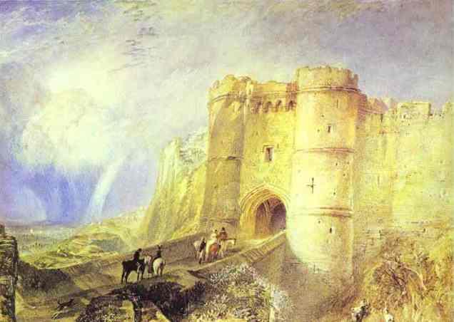 William Turner - Carisbrook Castle, Isle of Wight