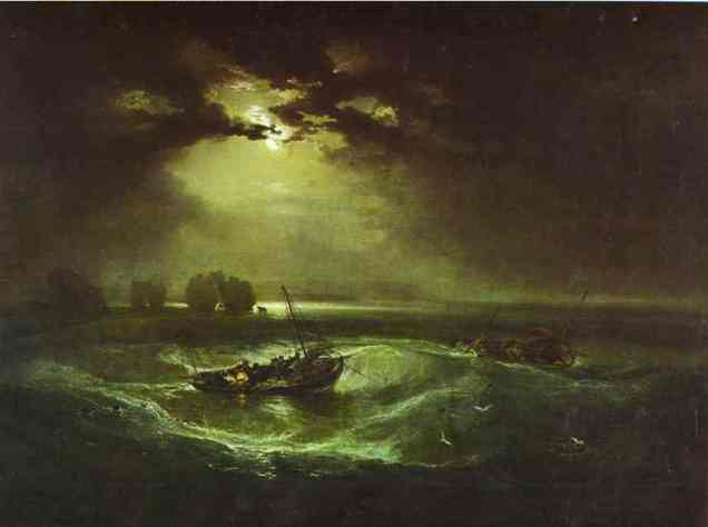 William Turner - Fishermen at Sea
