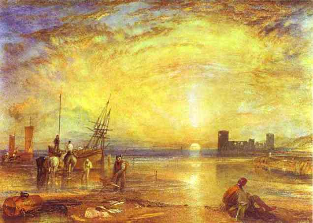 William Turner - Flint Castle