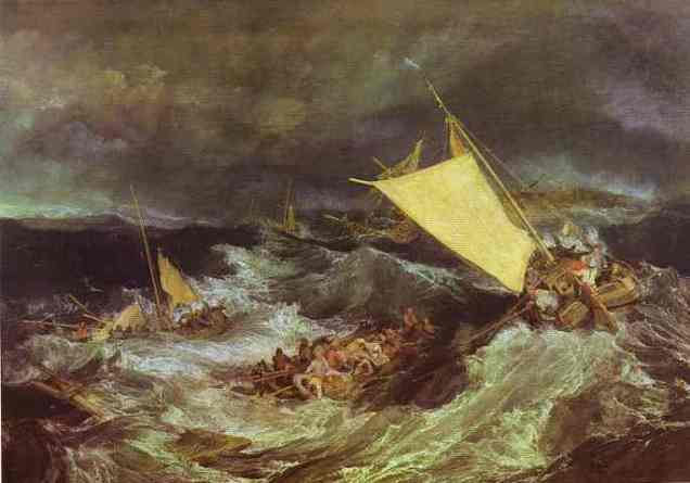 William Turner - The Shipwreck
